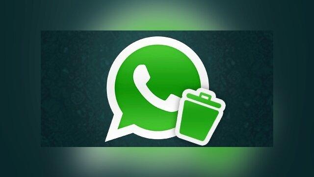 Main photo Agora é oficial! WhatsApp começa a liberar função 'Apagar mensagem'