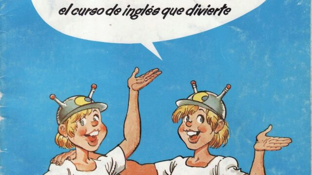 """Inglés Junior (1982) """"El curso de ingles para niños que entretiene"""""""