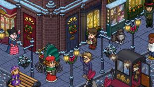 Habbo Natale Vittoriano