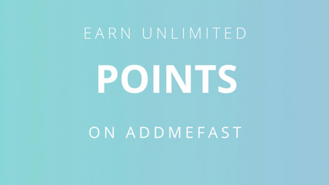 How to Get Free Points on AddMeFast