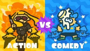 Festival Splatoon 2 (Janvier 2018) - Action VS Comedy !
