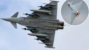 """Las verdaderas perspectivas del Eurofighter """"Typhoon"""" en la FAC."""