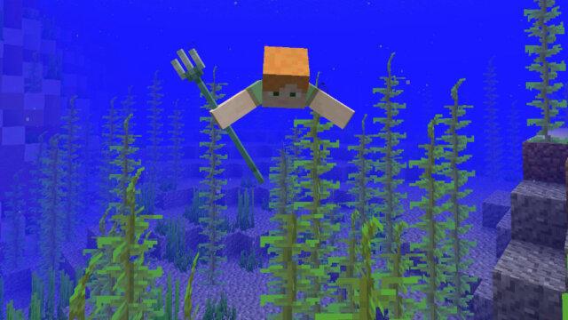 Mise à jour de Minecraft : l'Aquatic Update