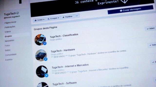 Adira aos Grupos do TugaTech no Facebook