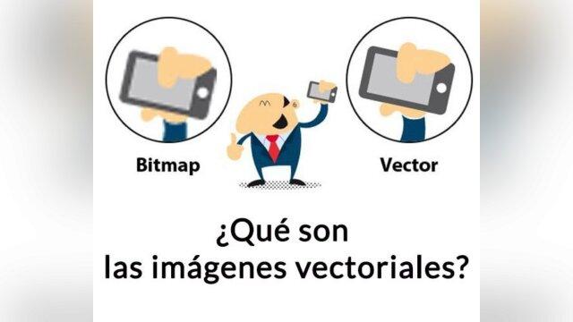 Imagen vectorizada vs mapa de bits
