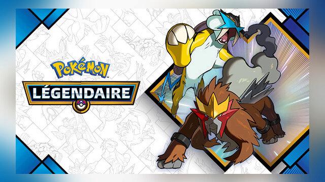 Main photo Pokémon Légendaire d'avril : Raikou & Entei !