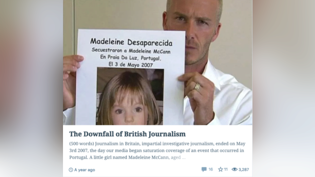 The downfall of British journalism