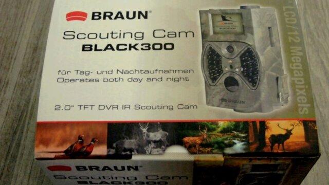 Braun - Scouting Cam Black300