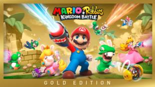 Une version Gold de Mario + The Lapins Crétins Kingdom Battle !
