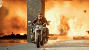 La Harley-Davidson FLSTF Fat Boy de Terminator 2 sera vendue aux enchères