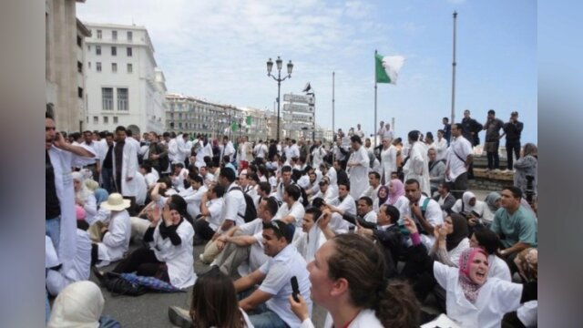 Main photo Les médecins résidents reviennent à la protestation(deux sit-in demain à Alger)