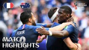 France - Australie : Le résumé