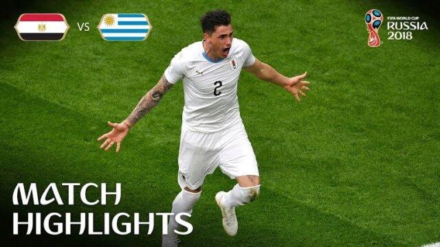 Uruguay - Egypte : Résumé
