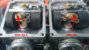 Hyosung COMET GT GTR AQUILA GV 125 Kit up amélioration de la carburation
