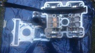 Hyosung COMET GT GTR AQUILA GV 125 Dépose d'une culasse (arrière)