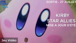 La prochaine mise à jour de Kirby Star Allies disponible vendredi !