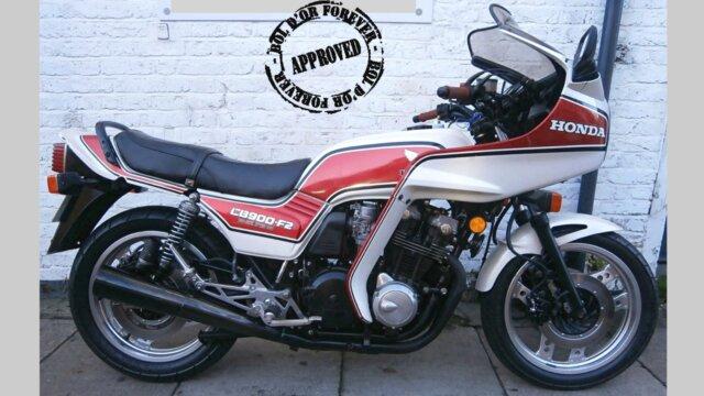 Main photo Tout sur les Honda CB900F2d Bol d'Or 1983