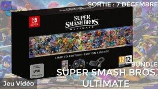Un bundle Super Smash Bros. Ultimate en édition limitée !