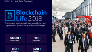 Blockchain Life Sankt Petersburg Forum 2018