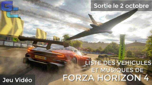 Main photo Liste des véhicules & musiques de Forza Horizon 4