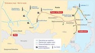 Russia says getting closer to deal on new gas route to China