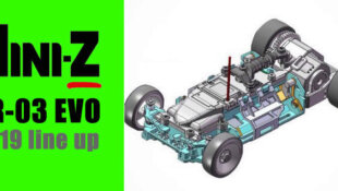 Lancement de la Mini-Z MR-03 EVO