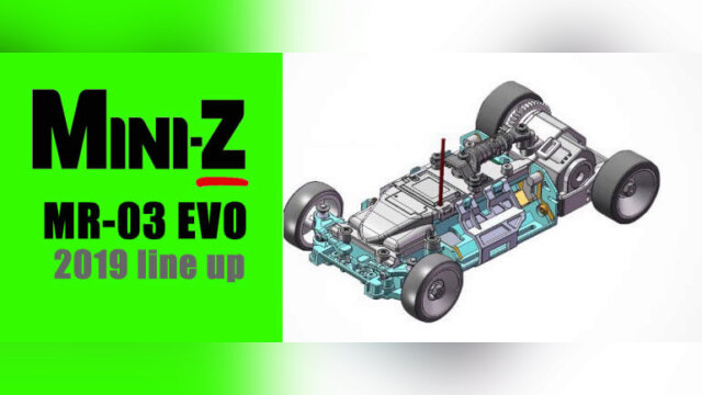 Lancement de la Mini-Z MR-03 EVO