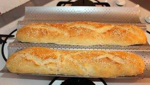 Fait maison : La Baguette de pain facile !