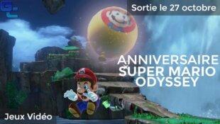 Anniversaire de Super Mario Odyssey