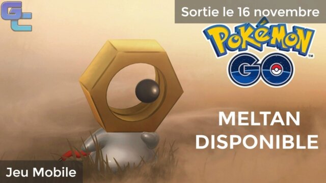 Pokémon GO : La quête de Meltan disponible !