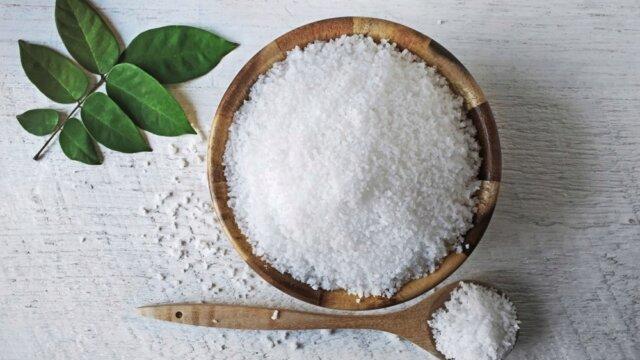 Использование соли в...