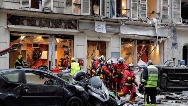 Main photo Explosion dans le 9e arrondissement de Paris