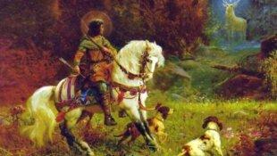 La vie de saint Hubert