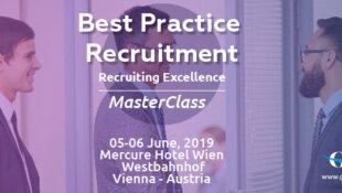 Best Practice Recruitment – Recruiting Excellence MasterClass, 05-06  June, 20