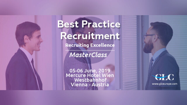 Best Practice Recruitment – Recruiting Excellence MasterClass, 05-06  June, 20