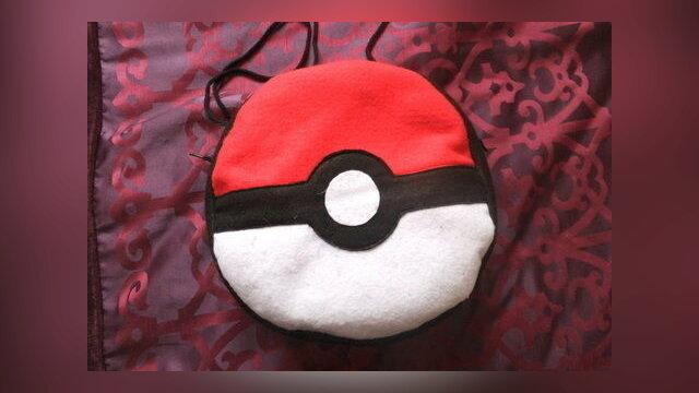 Pokemon Ball Shoulder Bag