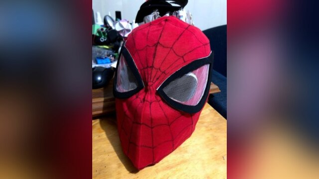Spiderman Mask Cosplay Tutorial by Snorlaxprime