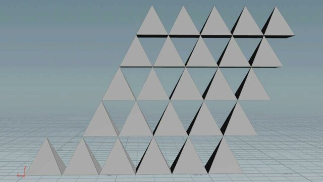 Creating a Pyramid Function with Vex