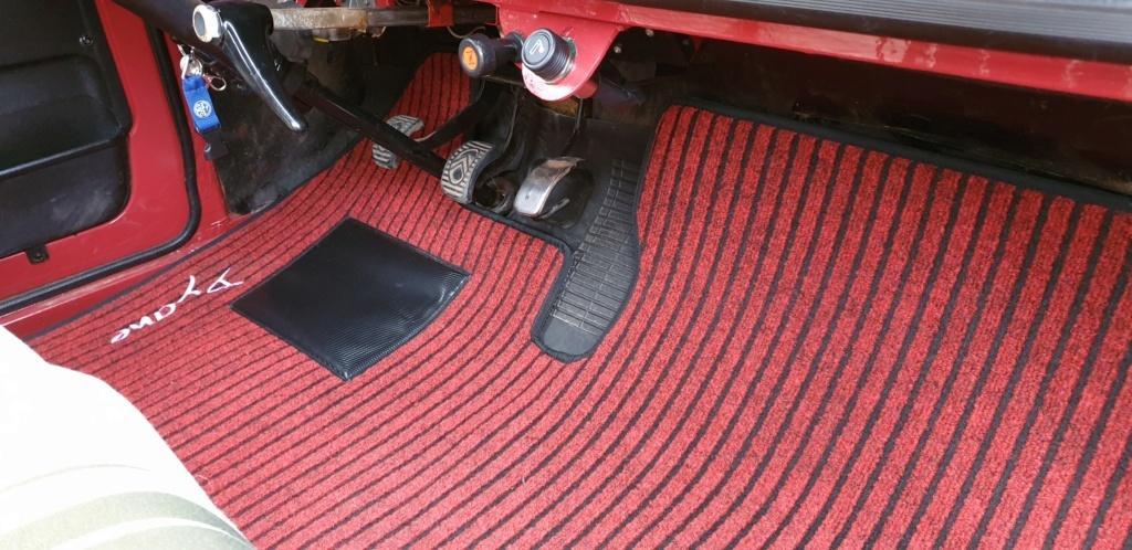 tapis de sol dyane