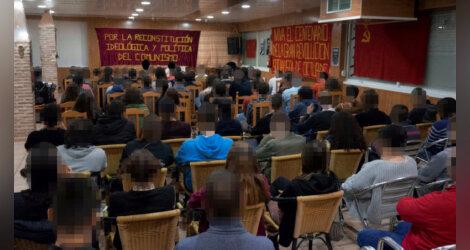 [Movimiento por la Reconstitución] Acto de homenaje por el centenario de la Gran Revolución Socialista de Octubre